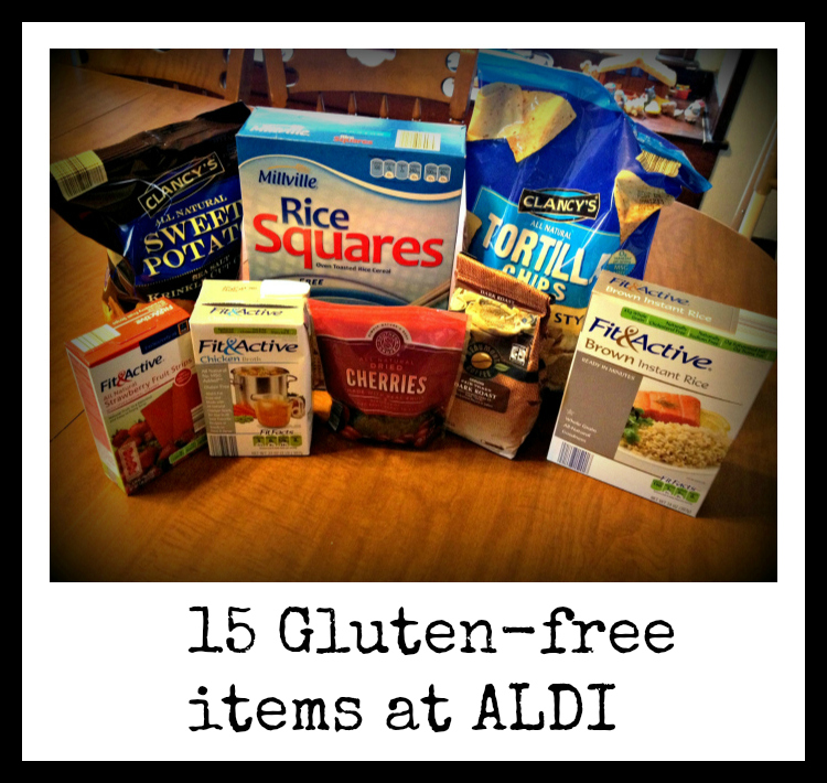 Gluten-Free food finds at ALDI – Mommin' It Up!