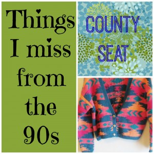 things i miss from the 90s