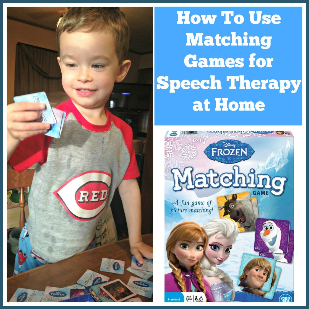 Frozen Matching Game Collage
