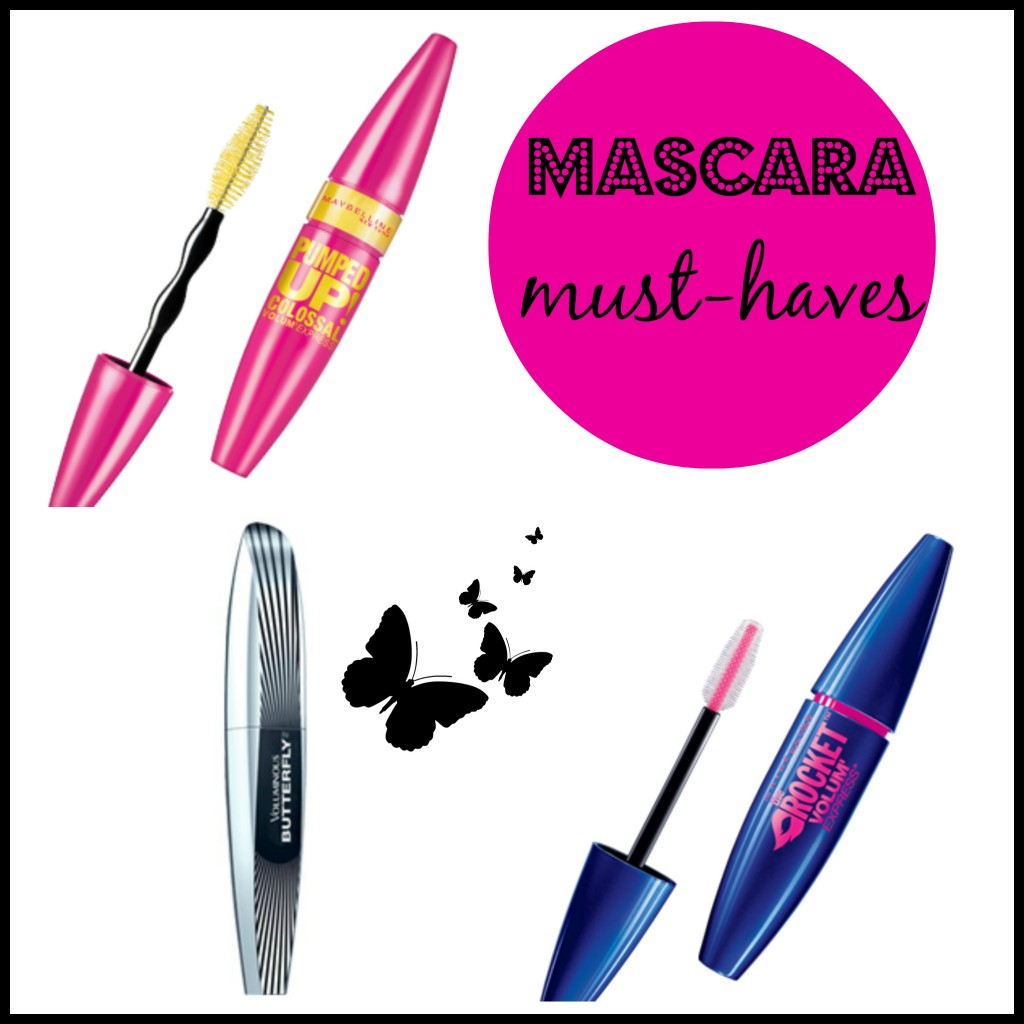 Mascara Must Haves Collage